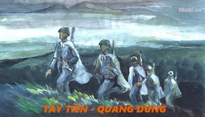 Cảm nhận 14 câu thơ đầu bài thơ Tây Tiến của Quang Dũng - Theki.vn