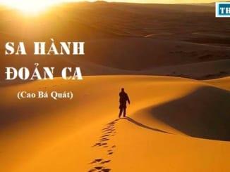 soan-bai-bai-ca-ngan-di-tren-cat-doan-sa-hanh-cao-ba-quat