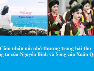 cam-nhan-noi-nho-thuong-trong-bai-tho-tuong-tu-cua-nguyen-binh-va-song-cua-xuan-quynh